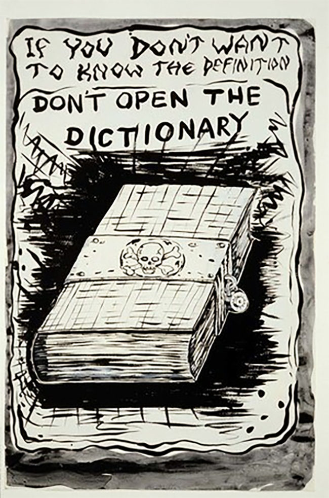 Dictionary Mike Kelley