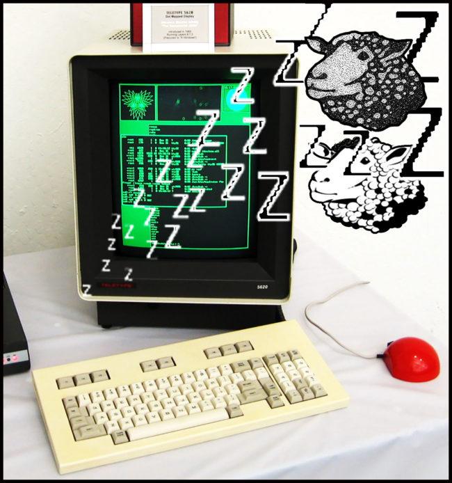 do computer screens dream of bitmap sheet?