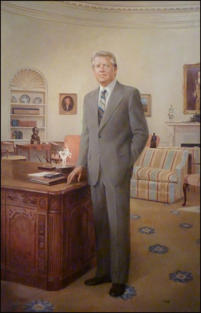 Jimmy Carter's Presidential Portrait