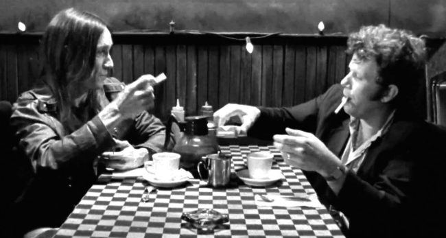 Tom Waits Iggy Pop Jim Jarmusch Coffee and Cigarettes